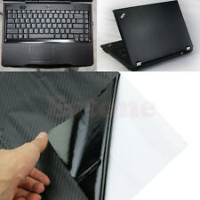 "3D Carbon Fibre Skin Cover Decal Wrap Sticker Case For 17"" PC Laptop Notebook"