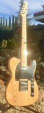 """Pairadice Musician's Supply Co. """"Tele Style"""" Flame Ash Top Electric Guitar"""