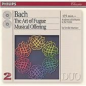 Neville Marriner 'Bach: The Art of Fugue; Musical Offering' 2 x CD New Sealed