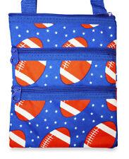 Football Womens Teens Mini Crossbody Bag Handbag Purse Small Little Cross Body
