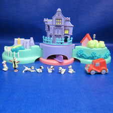 Mini Polly Pocket Disney Welpen 'Adventure 100% complete 101 Dalmatiner Schloss