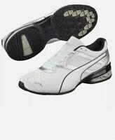 PUMA Men's Tazon 6 FM Sneakers Size 11 Men's New in Box !! Silver/White - Nice !