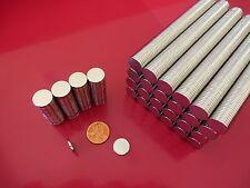 "50 Strong Rare Earth Neodymium Disc Magnets 12.5 x 1.5mm 1/2 x 1/16"" Bottle Cap"