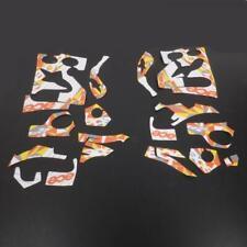 Kit déco 8 pièces marque Ace pour bottes de moto cross Alpinestar Tech 10 Neuf