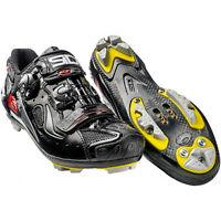 New SIDI DRAGON 4 SRS Carbon Mountain MTB Cycling Shoes Black Black EU40-43.5