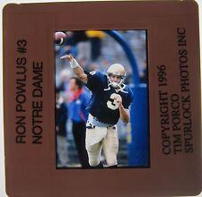 Ron Powlus Notre Dame Tennessee Oilers Detroit Lions Eagles Original Slide 6