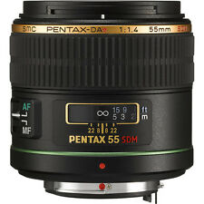 New PENTAX DA Star 55mm F1.4 SDM Lens