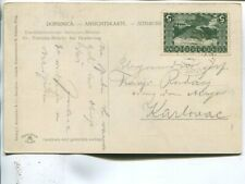 Bosnia and Herzegovina picture post card 1912