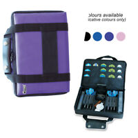 PURPLE DART CASE Extra Large Quality Pack Dartboard Carry Case Darts Wallet