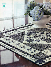 Indigo's Allure Quilted Table Runner or Wall Hanging - 0080