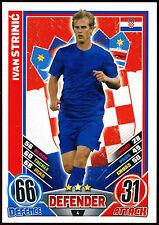 Ivan Strinic Croatia #4 England 2012 Match Attax TCG Card (C206)