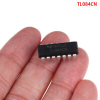 10 PCS TL084CN Inline DIP-14 Quad Operational Amplifier JFET Linear Buffer FE