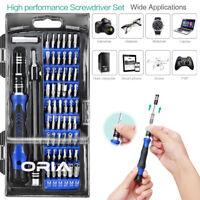 60-In-1 Magnetic Precision Screwdriver Phone PC PS4 Repair Tool Kit Set 56 Bit