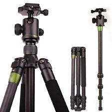 SYS500C Carbon Fiber Tripod Monopod BallHead Travel for DSLR Nikon Canon Camera