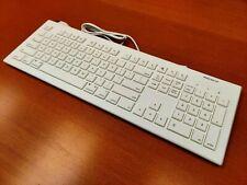 Apple Mac Keyboard - Macally 104 Key Full-Size USB Keyboard for Mac & PC
