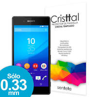 Sentete® Sony Xperia Z3+ Protector de Pantalla de Cristal Templado PREMIUM