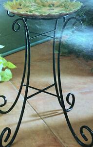 "Home Interior-""Daisy Birdbath"".  New in Box"