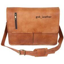 Men Leather Best Value Bag Business Messenger Laptop Shoulder Briefcase Satchel