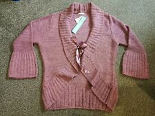 Marks And Spencers Mauve Cardigan Size 20-22 BNWT