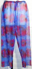 Stik Modas Moda Praia Swim Cover-Up Pants Sz M