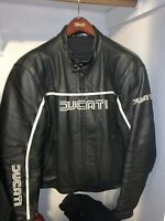 Ducati Motorcycle Leather Jacket By Dainese