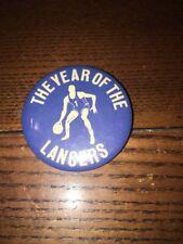 Rare Vintage 1970s Era College / High School  Basketball Pinback Button Pin