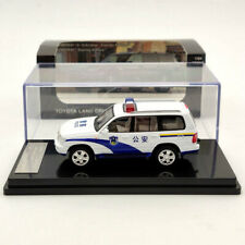 HIKASI 1/64 Toyota Land Cruiser LC100 V8 VXR Police Limited Diecast Models White