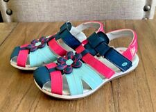 Pink & Blue Girl's Stride Rite Sandals Size 12