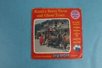 VINTAGE VIEW-MASTER 3D REEL PACKET A235 KNOTT'S BERRY FARM & GHOST TOWN COMPLETE