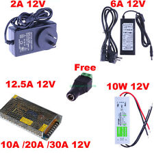 DC 12V 2A 5A 6A 10A 12.5A 20A Power Supply/Charger/Adaptor/Driver For LED Lights