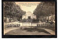 cpa MONTPELLIER - Exposition Régionale - Le Grand Palais et le Kiosque à musique