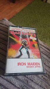iron maiden maiden in japan cassette 4LP 1500 Canadian release HX Pro rare VG+