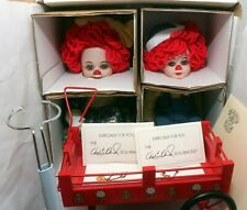 """Marie Osmond Miracle Children 8"""" Rosie & Rags Limited Edition Porcelain Dolls"""