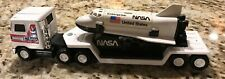 BUDDY L ~ NASA SPACE SHUTTLE CHALLENGER With Mack Truck and Trailer Vintage 1980
