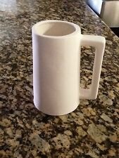Ready To Paint Ceramic Bisque beer coffee mug or stien Or Tankard