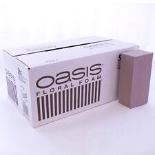 20 X Oasis SEC Espuma Seca Ladrillo Bloque floristería Seco Y Flores De Seda Floral Case Box