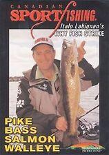 Why Fish Strike - Italo Labignan Pike Salmon Walleye Bass Fishing DVD Video