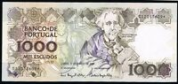 Replacement Portugal Banknotes 1000 ESCUDOS 03-03-1994 X-FINE++ P181K