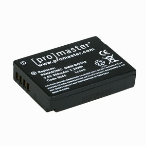 Promaster DMW-BCG10 XtraPower Lithium Ion Battery #6045 for Panasonic
