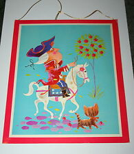 VTG Rare George Washington Whos Who Norcross Greeting Card Hanging 1960s NOS New