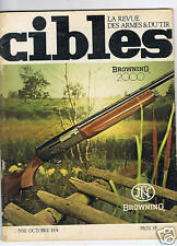 CIBLES N°61  ARMES TIR CHASSE / HUNTING ARMS