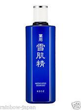 KOSE Sekkisei Medicated Lotion 200ml Skin care Moisturizer JAPAN