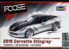 Revell 1/25 2015 Foose Corvette Stingray Pre-Painted Skill Level 3 Kit 85-4397