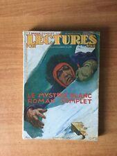 LECTURES POUR TOUS 1 roman complet dans un magazine complet : le mystèr