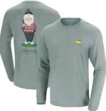 2020 Masters Gnome Long Sleeve Gray Shirt Augusta National XL EXTRA LARGE