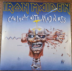 "Iron Maiden ‎– Can I Play With Madness  (Vinyl, 12"", Maxi)"
