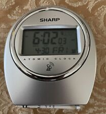Sharp Atomic Clock - Used - In Working Condition