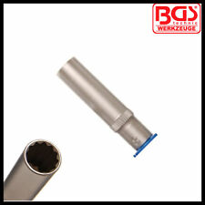 "BGS - 12 mm - 1/4"" Drive - Deep Socket 50 mm - 12 Point - Pro Range - 5251-12"