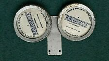 Vintage Dual Tax Disc Holder. Bus or Coach / Lorry Double Tax Disc Holder