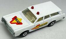 Matchbox Lesney Superfast No 55 Mercury Police Car Estate - VNM